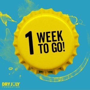 Only 1 week to go! Support us in our final week  www.dryjuly.com/teams/inner-strength